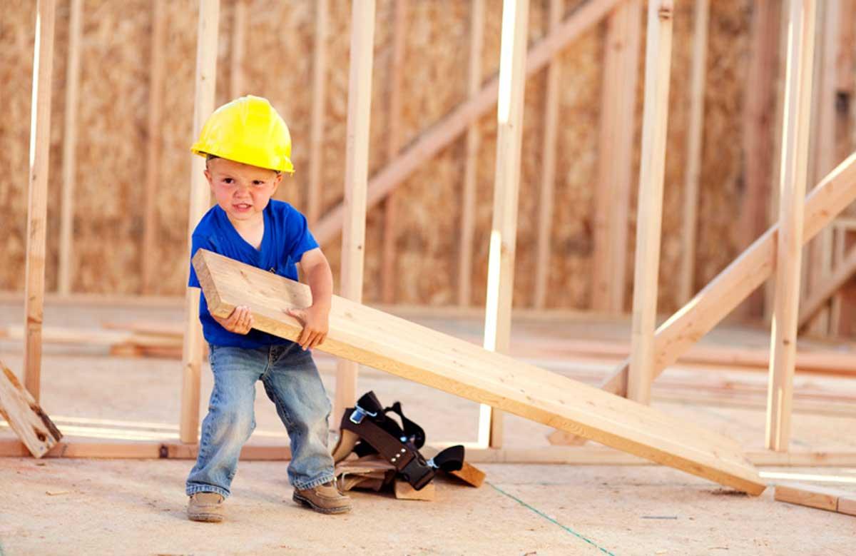Pomocná ruka na stavbe