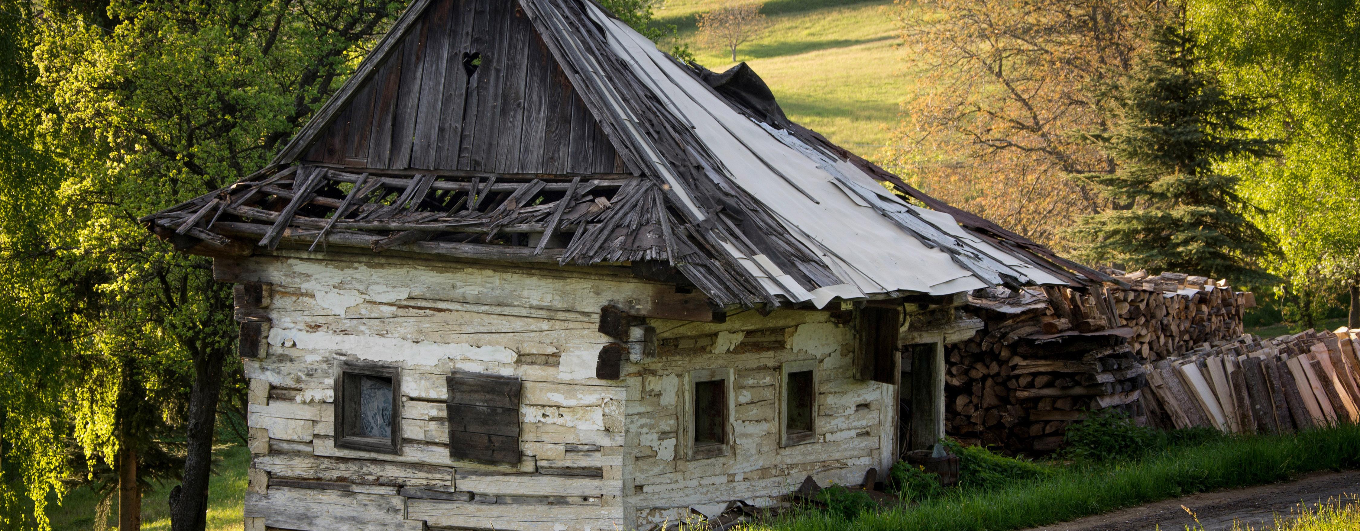 Viac skúsenosti a aj táto drevenica mohla prežiť viac generácií